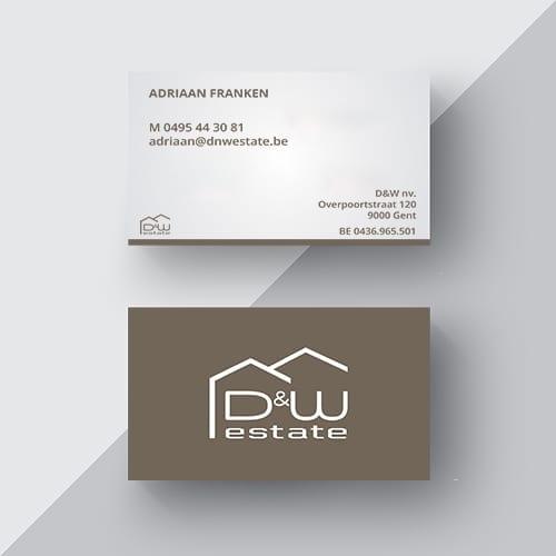 D&W-estate-presentatie-naamkaartje-logo