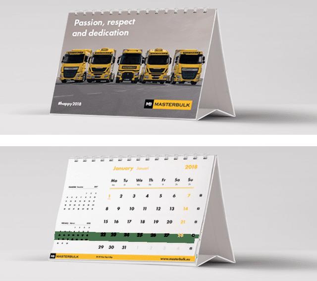 Masterbulk-jaarkalender