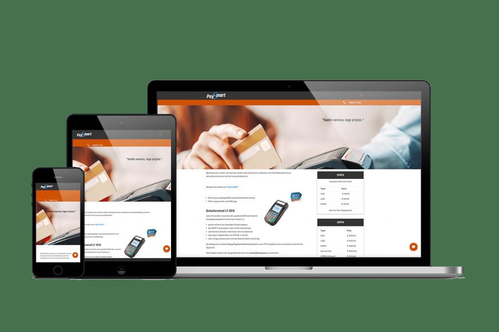 Paysmart Nieuwe website presentatie