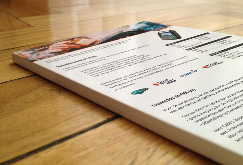 paysmart presentatie flyer A4