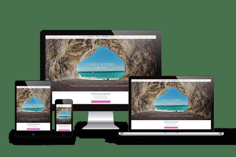 website lifecoach portfolio mark-up