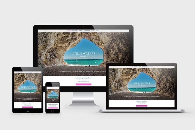 redesign website relatiecoach portfolio mark-up